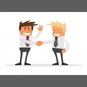 Trato entre empresarios