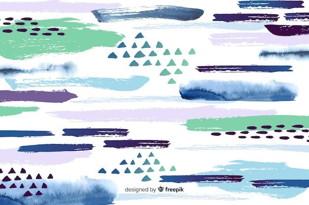 Trazos de pincel abstracto de fondo