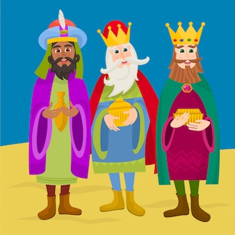 Tres reyes biblicos