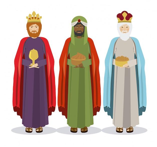 Los tres reyes, epifanía