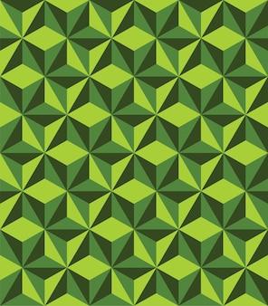 Triángulo abstracto geométrico de patrones sin fisuras Vector Premium