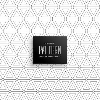 Triángulo artístico línea patrón de fondo