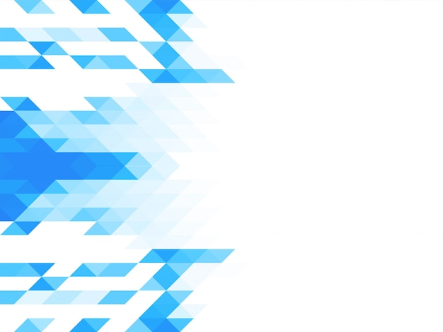 Triángulo elegante mosaico de fondo