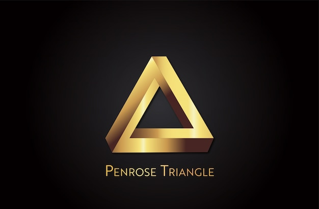 Triángulo de oro de penrose
