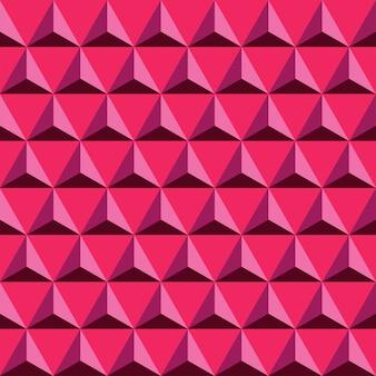 Triángulo rojo de patrones sin fisuras