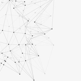 Triángulos abstractos espacio bajo poli