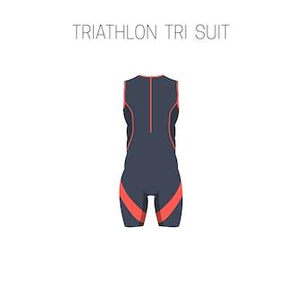 Triatlón tri traje.