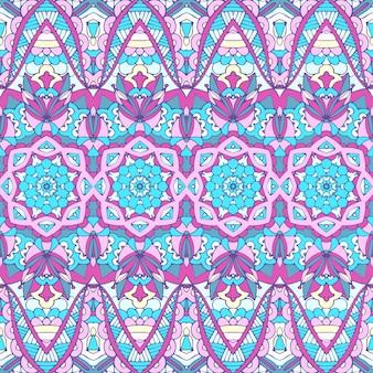 Tribal vintage abstracto geométrico étnico de patrones sin fisuras ornamental