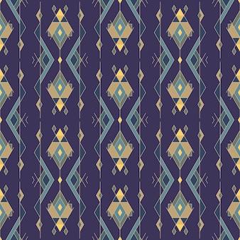 Tribal vintage étnico de patrones sin fisuras