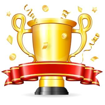 Trofeo con cinta