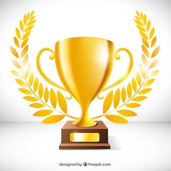 Trofeo dorado