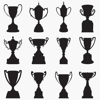 Trofeos de siluetas