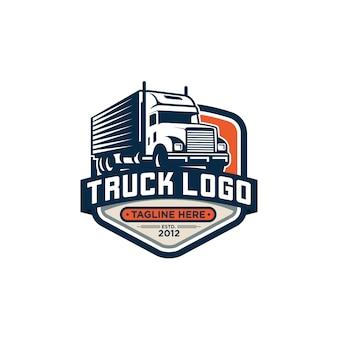 Truck logo vector imagen de archivo