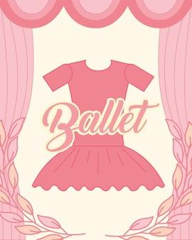 Tutú rosa ropa ballet elegancia
