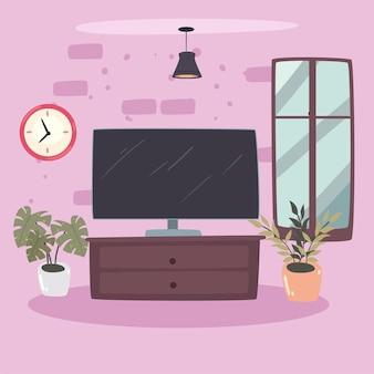 Tv y cajón