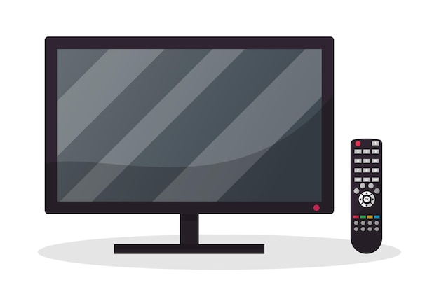 Tv con mando a distancia