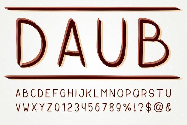 Typeface sans serif fuente