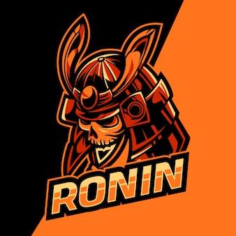 El último logotipo de ronin team esport