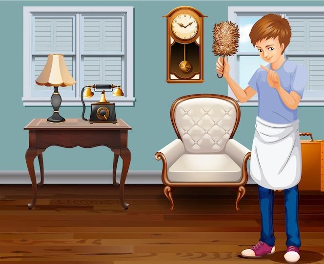 Tareas del hogar fotos y vectores gratis - Limpieza de una casa ...
