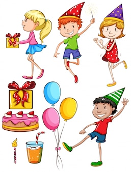 Una fiesta de cumpleaños