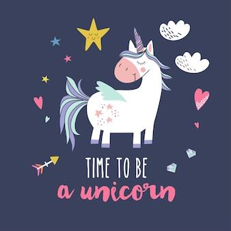 Unicornio lindo.