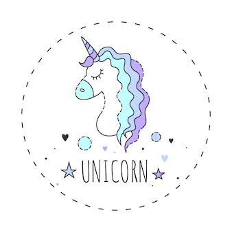 Unicornio mágico.