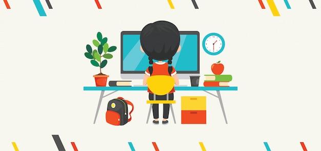 Uso de tecnología para educación o negocios
