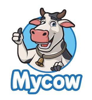 Vaca de dibujos animados