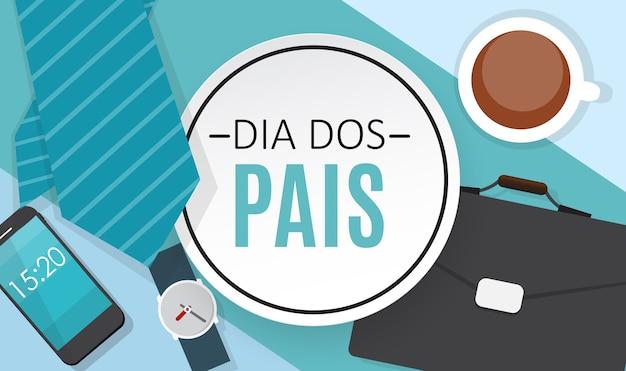 Vacaciones en brasil día del padre portugués brasileño