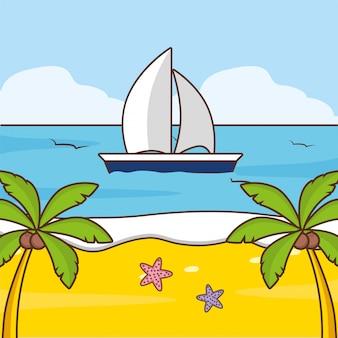 Vacaciones en la playa
