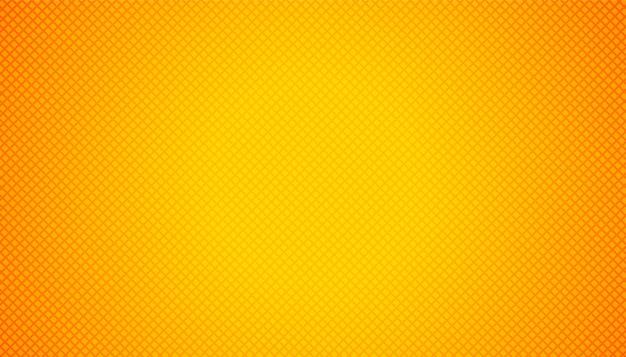 Vacío amarillo anaranjado con motivos geométricos