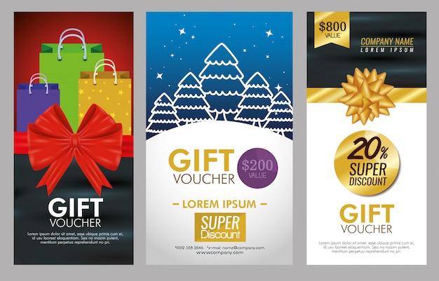 Vale de regalo con promoción especial