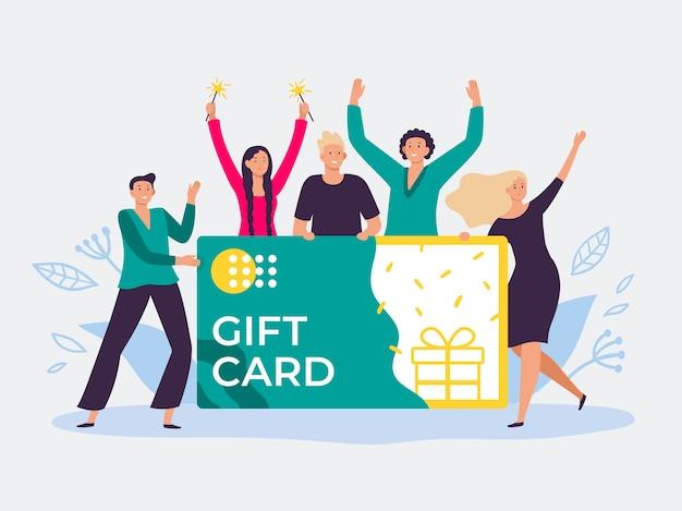 Vale de tarjeta regalo
