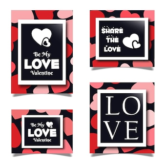 Valentine stationery sets