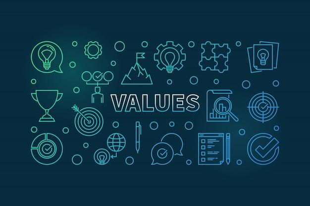 Valores de negocios