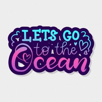 Vamos al océano