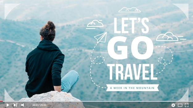 Vamos a viajar miniatura de youtube