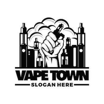 Vape, logotipo de vapor