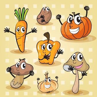 Varias verduras
