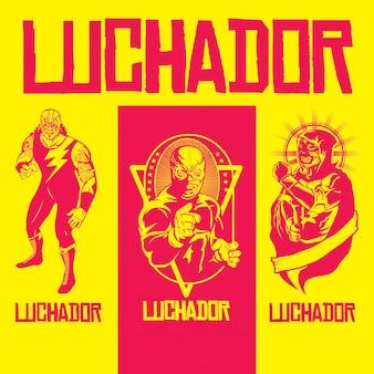 Variedad de heroes lucadores