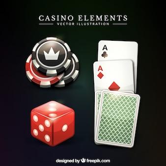 Variedad de juegos de casino