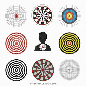 Variedad de objetivos