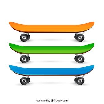 Variedad de patines