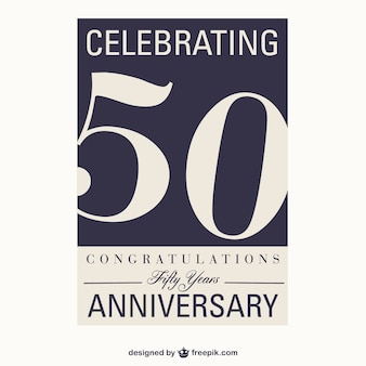 Vector 50 aniversario