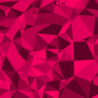 Vector abstracto colorido polígono creativo
