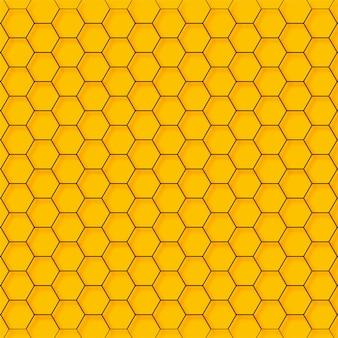 Vector abstracto del hexágono de la tecnología