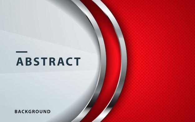Vector abstracto rojo backgrund