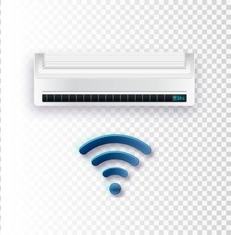 Vector acondicionador de aire acondicionador de aire con control wifi