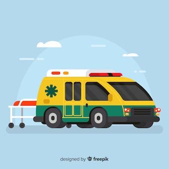 Vector de ambulancia