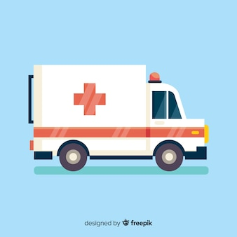 Vector de ambulancia